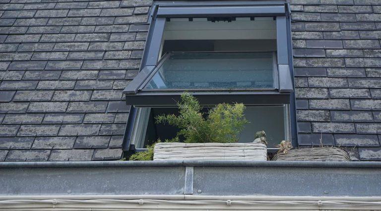 open-skylight window