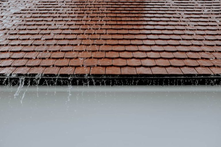 water-running-tiled-roof